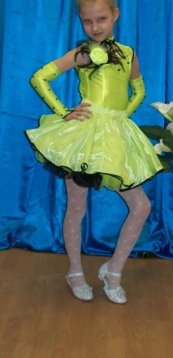Костюм для бальных танцев разм. 24